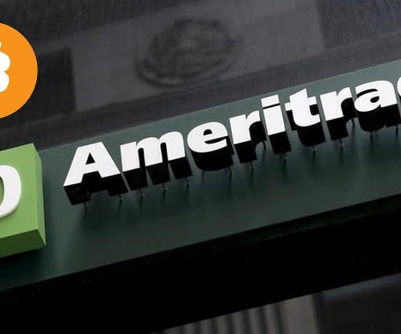 US Stock brokerage giant TD Ameritrade Invest in cryptocurrency exchange